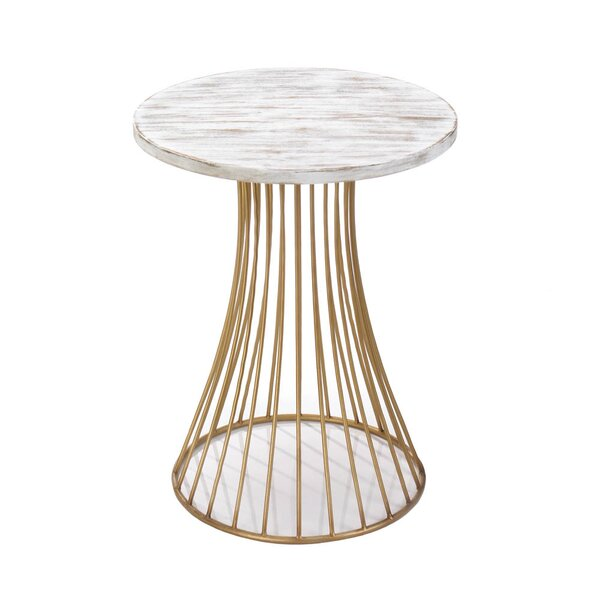 Circle End Table by Nikki Chu