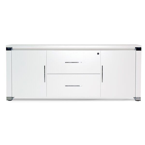 Pure Office 2 Door Credenza by Haaken Furniture