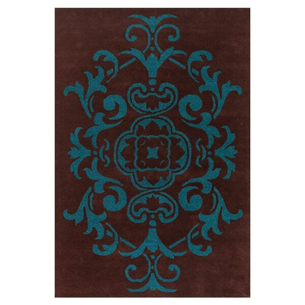Guilford Brown/Blue Area Rug by Alcott Hill