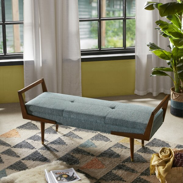 Aspen Upholstered Bench by Modern Rustic Interiors
