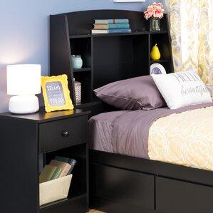 bailey twin bookcase headboard