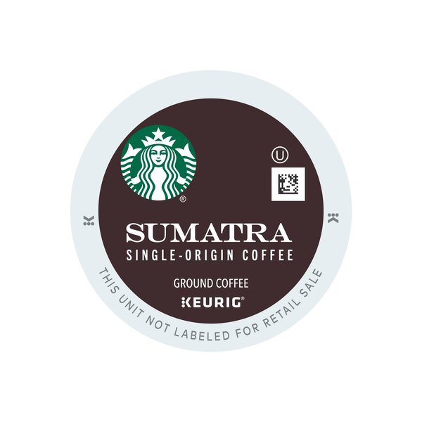 Starbucks Sumatra K-Cup (Pack of 64) by Keurig