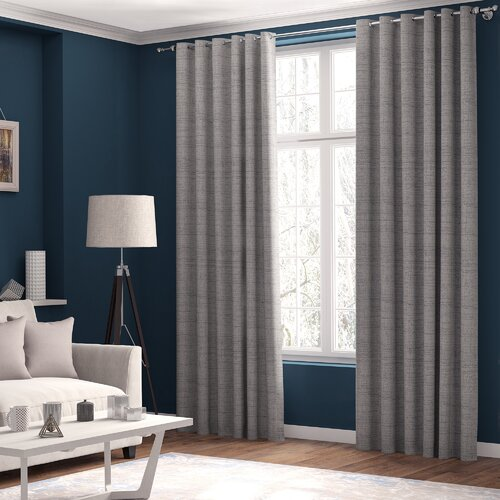 Shives Eyelet Blackout Thermal Curtains ClassicLiving