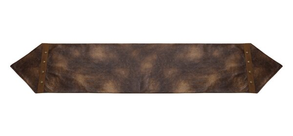 Argo Faux Leather Runner by Loon Peak