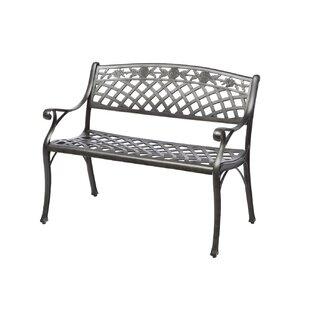Gentil Markham Cast Aluminum Garden Bench
