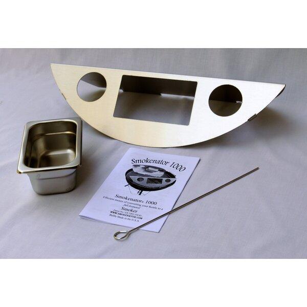 22 Smoker Box Kit for Weber Charcoal Grill by Smokenator