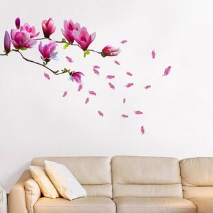 Merveilleux Magnolia Flower Wall Decal