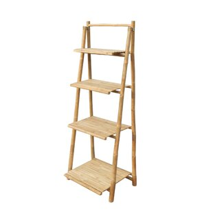 4 Tier Ladder Bookcase ZEW Inc