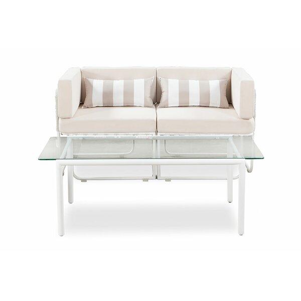 Sleaford Patio Sofa with Cushions by Freeport Park Freeport Park
