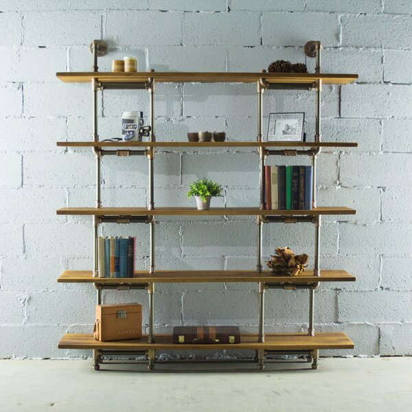 Ragnar Etagere Bookcase by 17 Stories