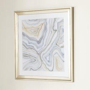 Agate Framed Print II by Birch Lane™