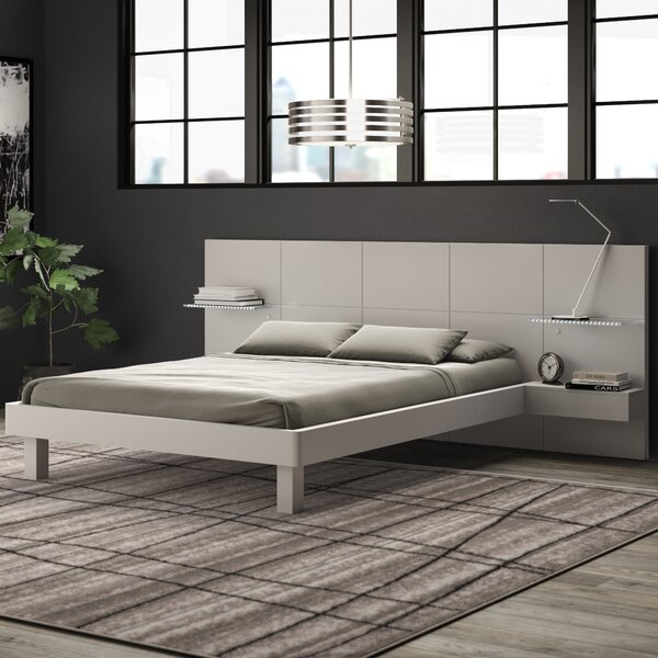 Blasko Platform Bed by Wade Logan