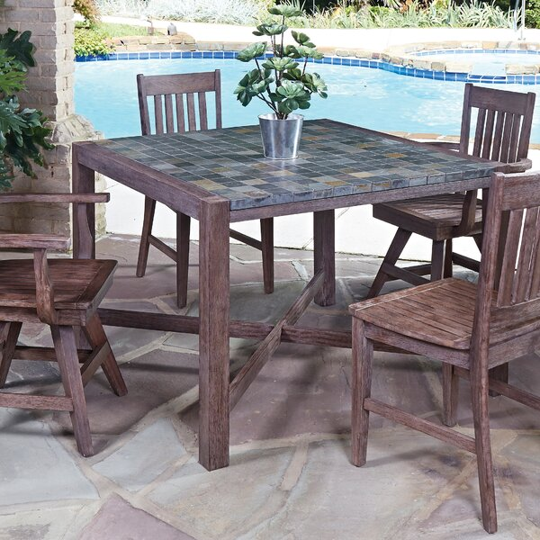 Lakewood Square Dining Table by Millwood Pines