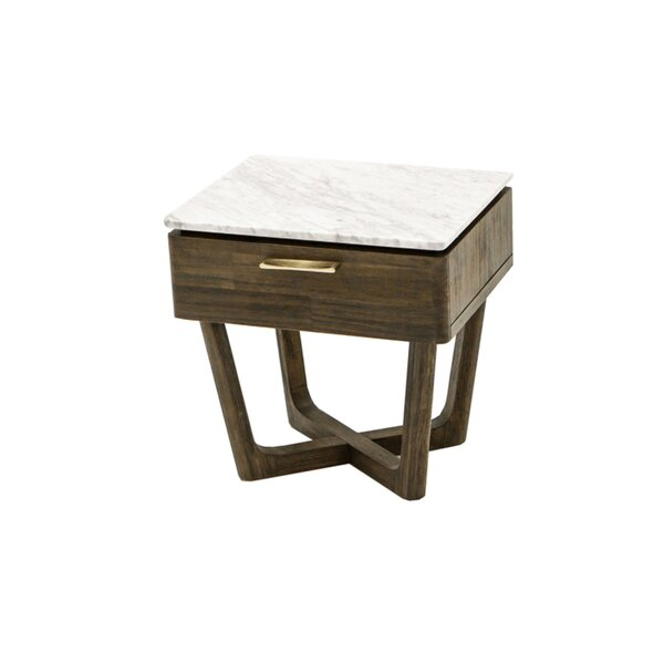 Mulligan 1 Drawer Nightstand by Red Barrel Studio
