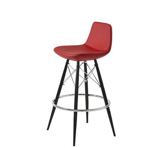 Shinn Dowel 29 Bar Stool by Brayden Studio