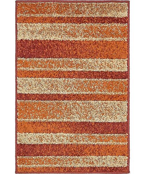 Bryan Rust Red Area Rug by Ebern Designs