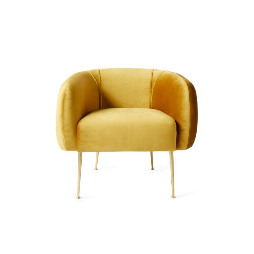Kosinski Barrel Chair by Everly Quinn