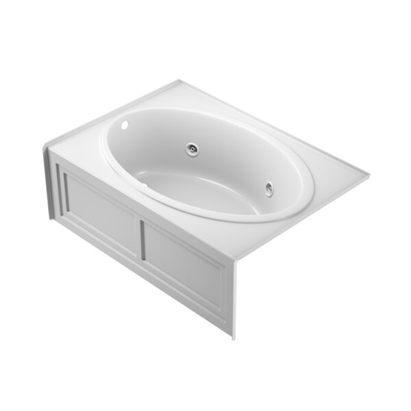 Nova Left-Hand Heater and Chroma 60 x 42 Skirted Whirlpool Bathtub by Jacuzzi®