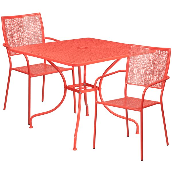 Janeth 3 Piece Bistro Set by Zipcode Design