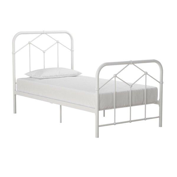 Francis Farmhouse Metal Platform Bed by Novogratz