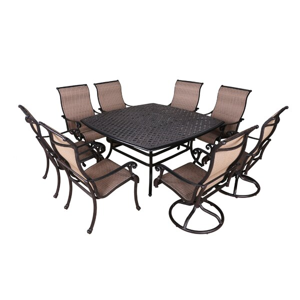 Kempf 9 Piece Dining Set by Darby Home Co