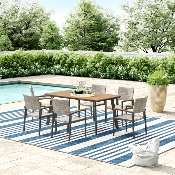 Colesberry Outdoor 7 Piece Dining Set by Ivy Bronx