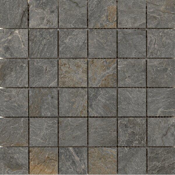 Milestone 2 x 2 Porcelain Mosaic Tile in Gray by Emser Tile