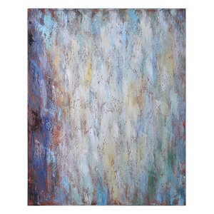 Fusion Painting Print on Wrapped Canvas by Brayden Studio