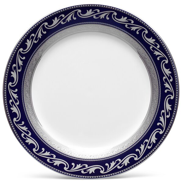 Crestwood Cobalt Platinum 9 Accent Plate by Noritake