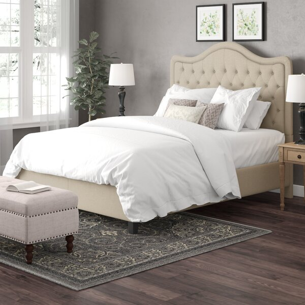 Design Turin Upholstered Standard Bed By Darby Home Co 2019 Sale