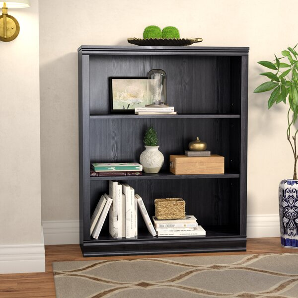 Caines 3-Shelf Standard Bookcase by Andover Mills