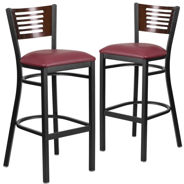 Mat 32 Bar Stool (Set of 2) by Red Barrel Studio