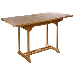 Great choice Extendable Teak Bar Table By Chic Teak
