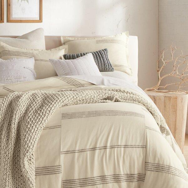 Marled Stripe Duvet Cover Set
