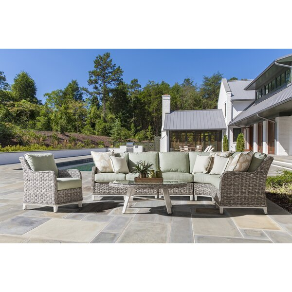 Craut Patio Chair With Cushion by Highland Dunes Highland Dunes