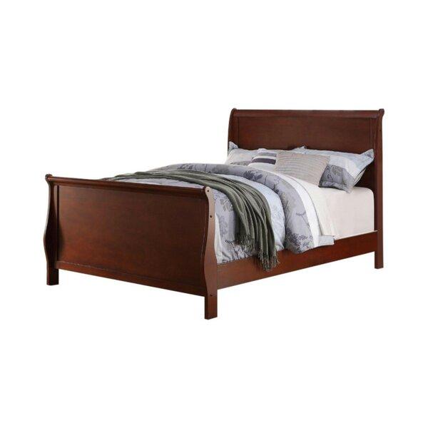 LaGuardia Lovely Sleigh Bed by Alcott Hill