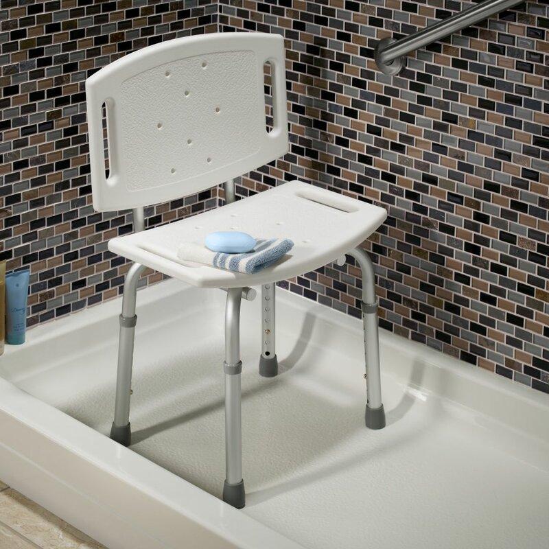 Tub and Shower Chair DF599 Delta \u0026 Reviews   Wayfair
