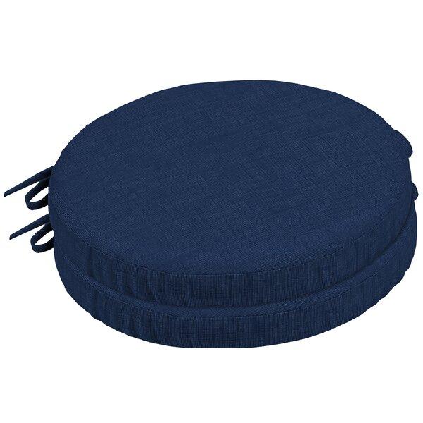 Ruby Leala Outdoor Round Foam Bistro Barstool Cushion (Set of 2)