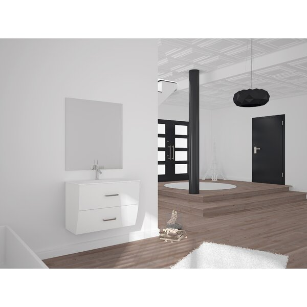 Mccluskey 24 Single Bathroom Vanity Set by Orren Ellis