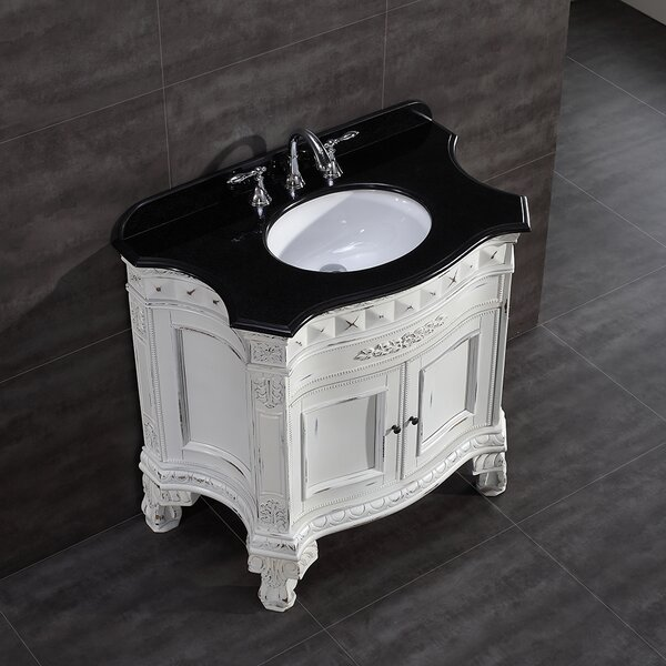 York 36 Single Bathroom Vanity Set by Ove Decors
