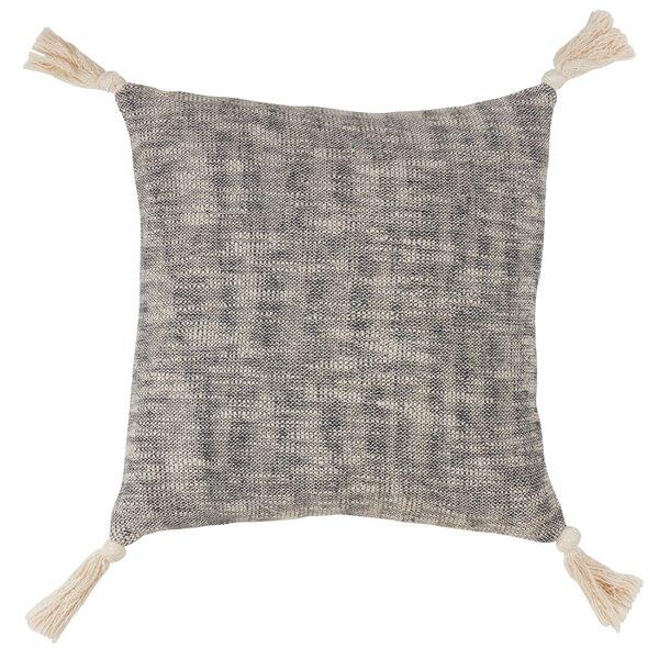 Zemple Tasseled Design Cotton Throw Pillow by Gracie Oaks
