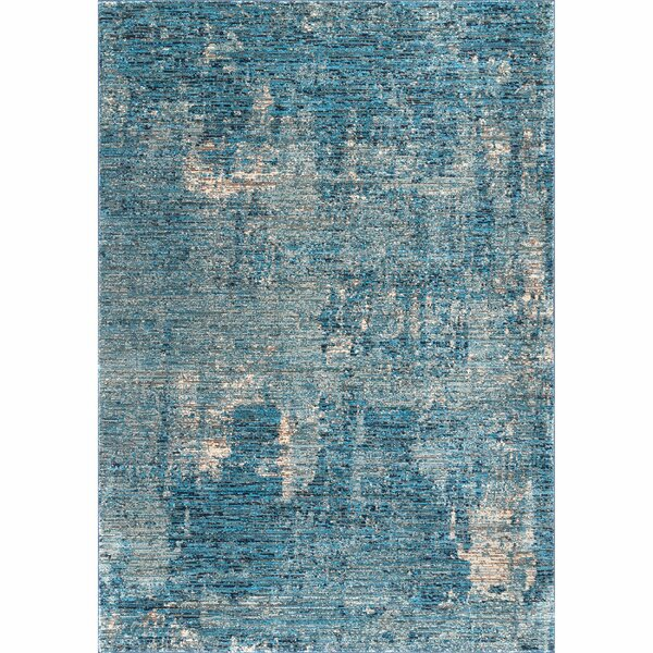 Moe Blue Area Rug by Bungalow Rose