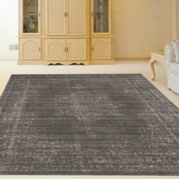 Benson Light Brown Area Rug by Threadbind