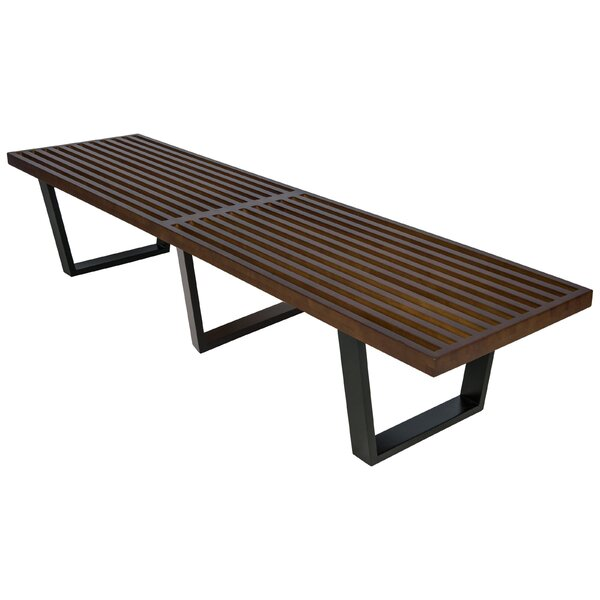 Inwood Wood Bench by LeisureMod
