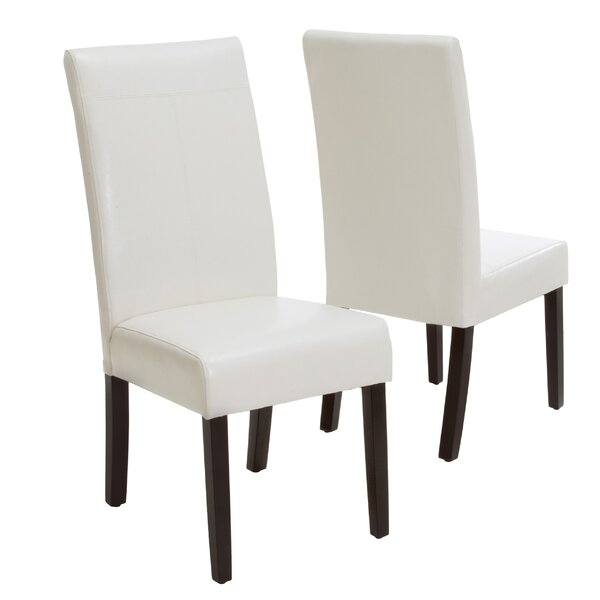 Grace T-Stitch Upholstered Dining Chair (Set Of 2) By Zipcode Design