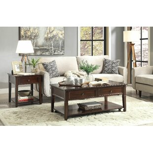 Check Prices Palmetto 2 Piece Coffee Table Set By Darby Home Co