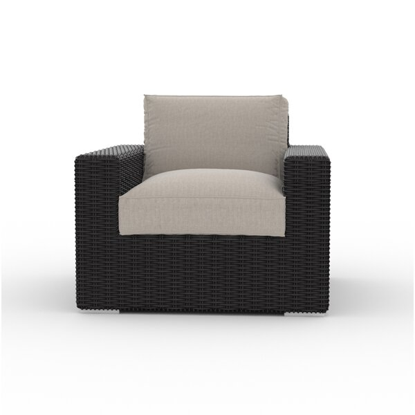 Borba Patio Chair with Cushion by Bungalow Rose