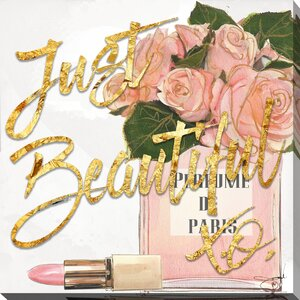 'Just Beautiful' Graphic Art Print by Picture Perfect International