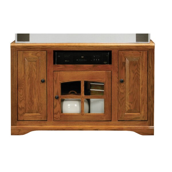 Solid Wood TV Stand for TVs up to 58