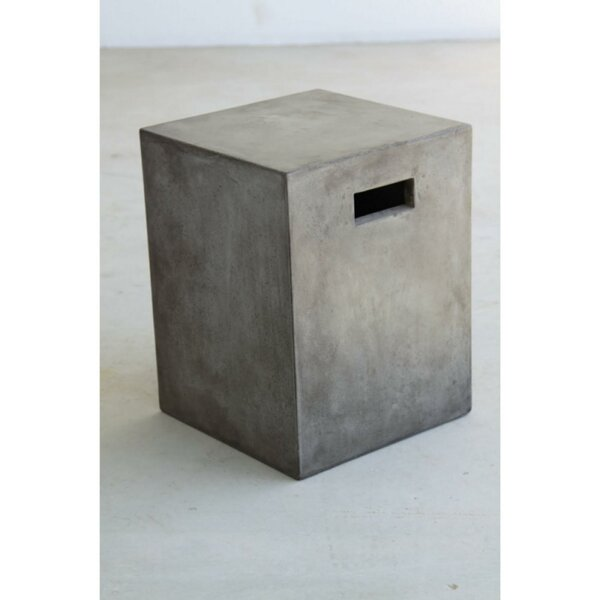 Pompey Concrete Garden Stool by Williston Forge